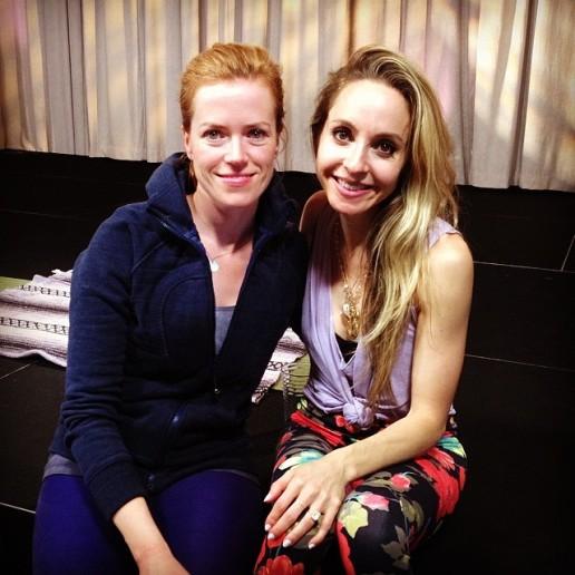 With author Gabrielle Bernstein
